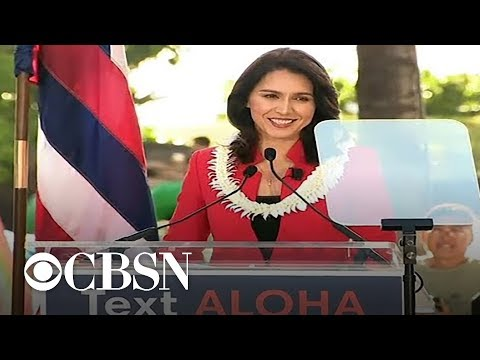 Hawaii Rep. Tulsi Gabbard launches 2020 presidential campaign