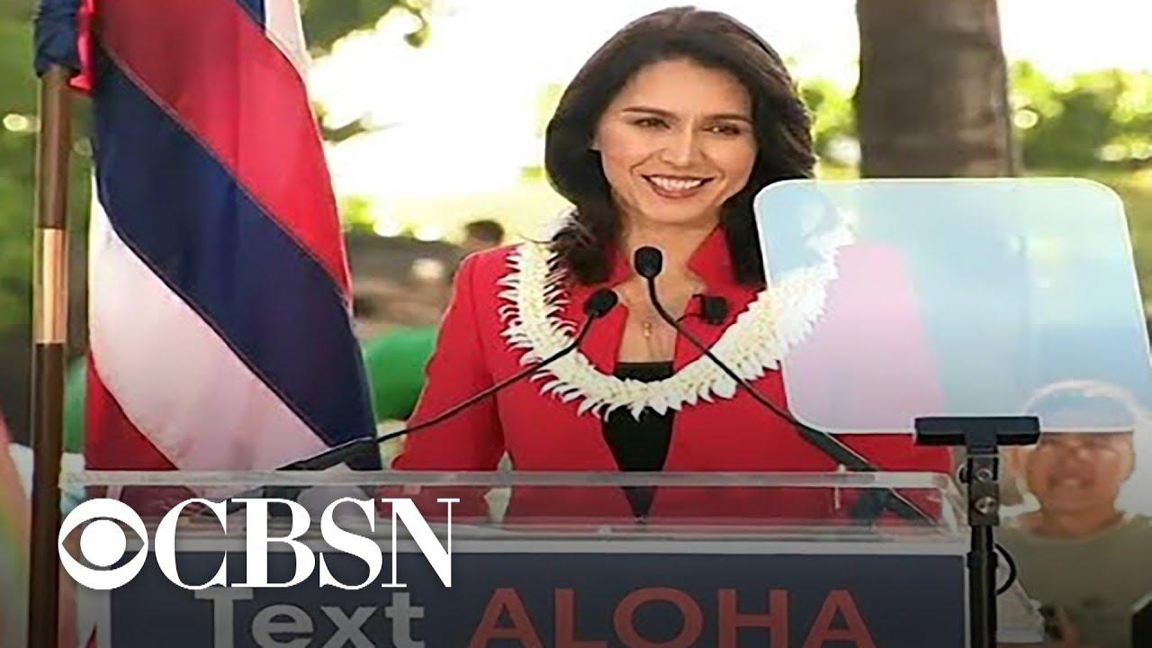 Hawaii Rep. Tulsi Gabbard launches 2020 presidential campaign