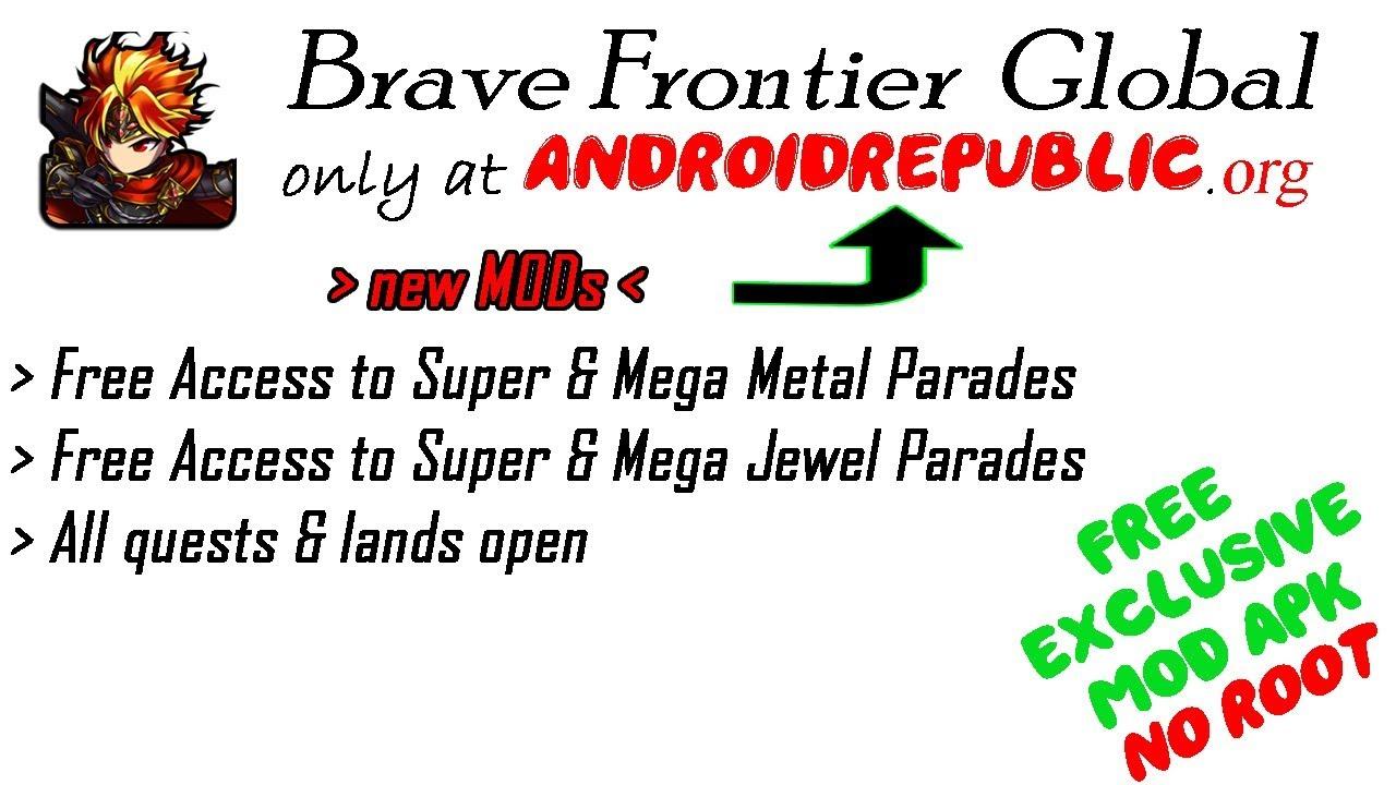brave frontier mod apk android republic