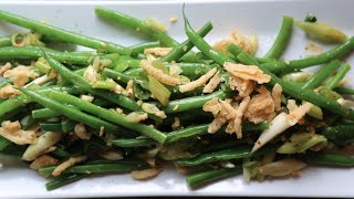 Asian Green Bean Salad Recipe By Sam The Cooking Guy