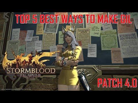 Final Fantasy XIV: Stormblood - Patch 4.0 Top 5 Best Ways to Make Gil!