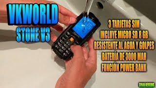VKworld - Stone V3 Teléfono móvil resistente para personas mayores