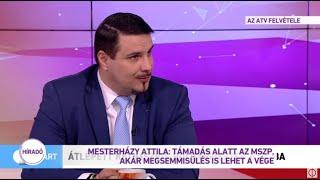 Mesterházy Attila: Támadás alatt az MSZP, akár megsemmisülés is lehet a vége