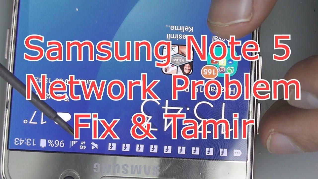 Samsung On5 Network Problem