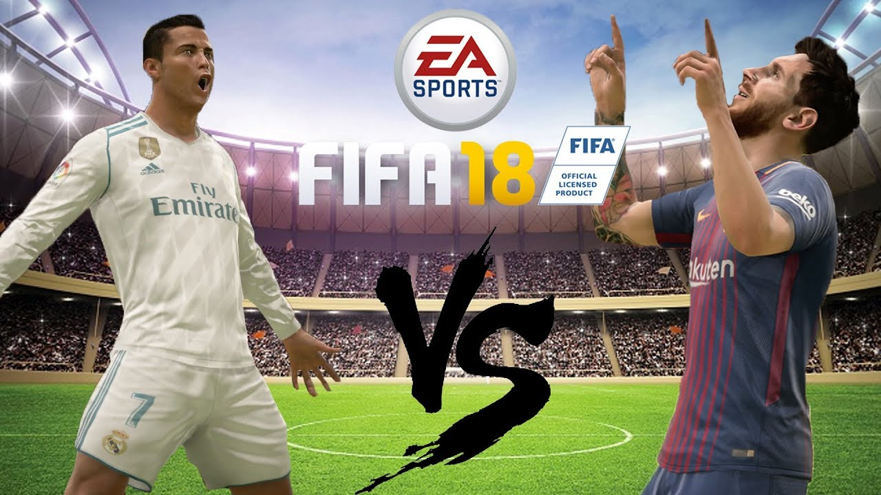 Messi V Ronaldo Fifa  The Rematch
