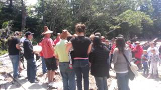 2014 Chinook Tribe First Salmon Ceremony