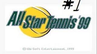 Test - All star tennis 99 - N64