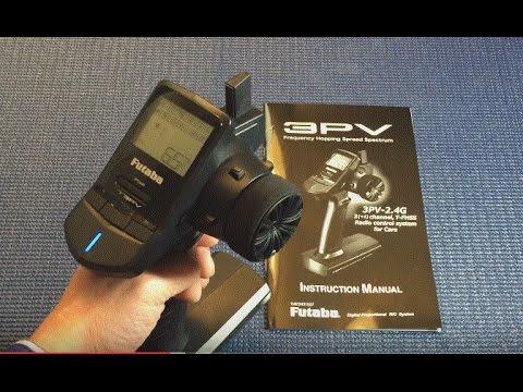 Futaba 3PV 3+1 Channel 2.4ghz sfhss Système Radio Avec Récepteur R314SB x 1 pc