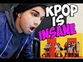 First Time REACTING to KPOP!!! (BTS, 2NE1, TWICE & MORE!)