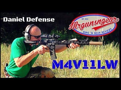 Daniel Defense DDM4V11 Lightweight KeyMod AR-15 Review (HD)