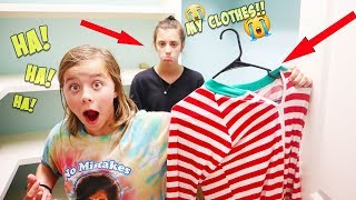 I DONATED ALL OF MY SISTERS CLOTHES!!