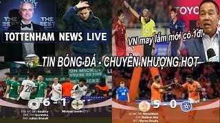 """💥Tin bóng đá 20/11 NÓNG Mourinho sắp trở thành HLV trưởng Tottenham, """"VN may mắn lắm mới có 1 điểm"""""""