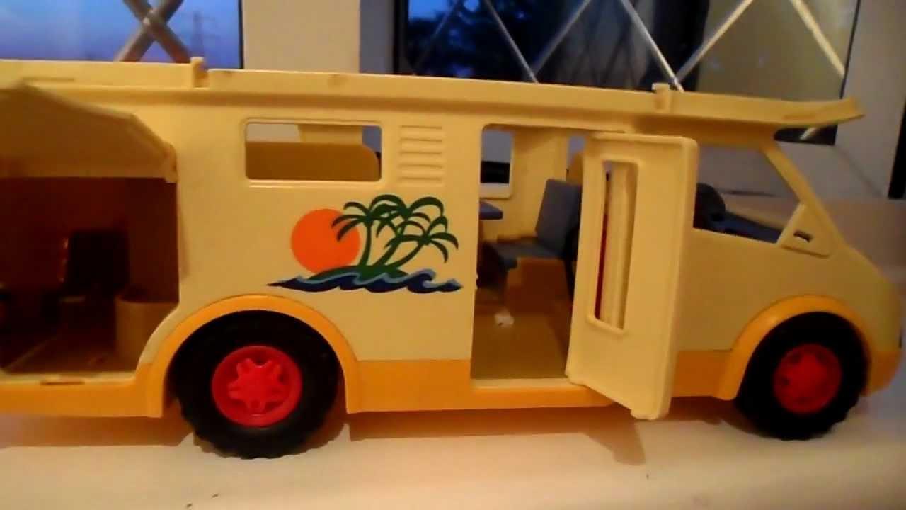 Playmobil Toy Camper Van Truck Youtube