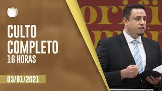CULTO VESPERTINO 16H | Rev. Leonardo Campanha| Igreja Presbiteriana de Pinheiros | IPP TV