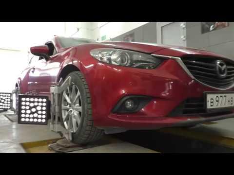 MAZDA 6 GJ. 2012- н.в. Капитальный ремонт передней подвески на пробеге 160000 ткм.