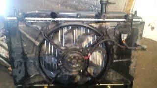 Замена радиатора, системы охлаждения Hyundai Accent.
