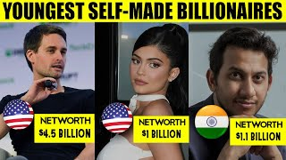 Top 7 Young Richest Self Made Billionaires of The World