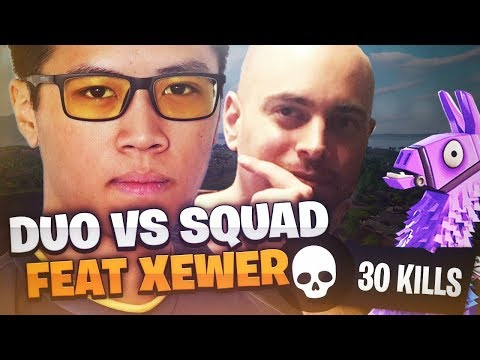 mode-facile-sur-fortnite-?!---30-kills-duo-vs-squad---kinstaar-fortnite-gameplay-feat.-xewer