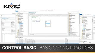 Control Basic: Variables, Statements, Comparisons, Commenting