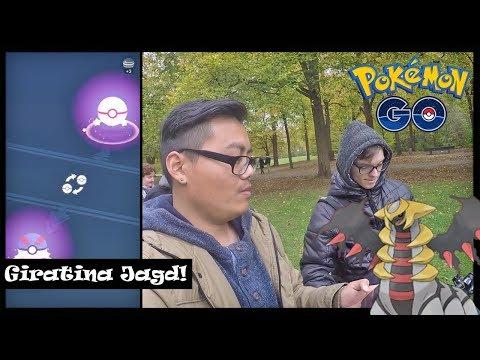 Auf GIRATINA Jagd & neues LEGENDÄRES GLÜCKS Pokemon! Pokemon Go! thumbnail