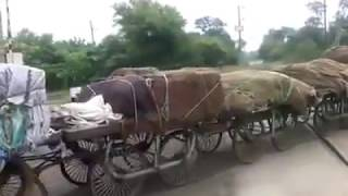 Longest tractor trolley in India
