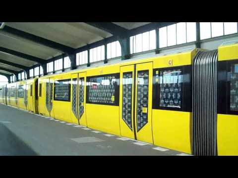 Exclusive: U-Bahn/ Metro in Berlin, Germany 2011