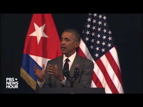 Watch President Obama's full speech to Cubans from Havana