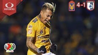 Resumen Tigres 4 - 1 Querétaro | Clausura 2019 - Jornada 11 | Televisa Deportes