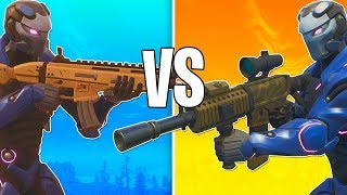 THIS GUN MAKES THE SCAR LOOK TRASH! FORTNITE NEW THERMAL SCOPED ASSAULT RIFLE GAMEPLAY!