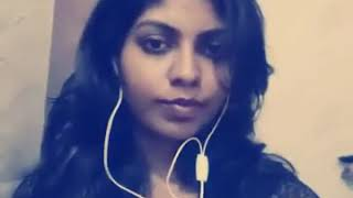 Tamil ponnu on air - vidhya