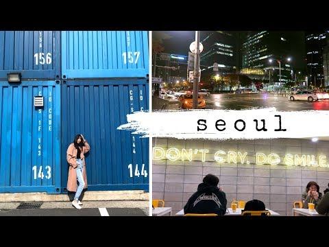 SEOUL, SOUTH KOREA TRAVEL VLOG | AIRBNB, SHOPPING, KOREAN FOOD & HAIR SALON