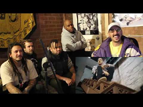 Marginais Boombap #2 - Nabrisa, Felp 22, Spinardi E Dk47 [React] | Ft. @9Nine.Records