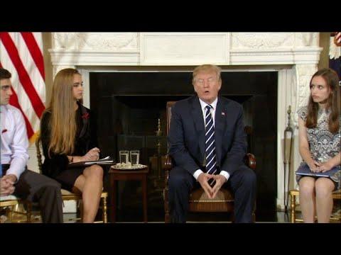 Trump promete controle mais rigoroso sobre compra de armas