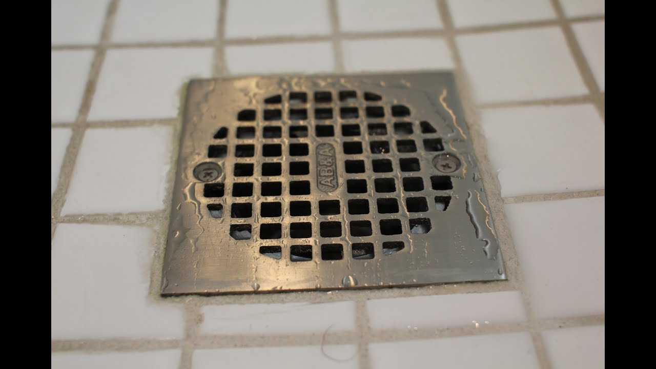 How To Fix A Slow Draining Shower Youtube