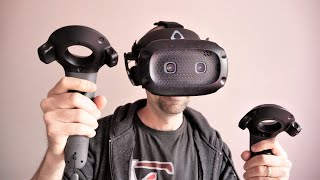 HTC VIVE Cosmos Elite Review | Is this pricey PC VR gaming setup worth it?