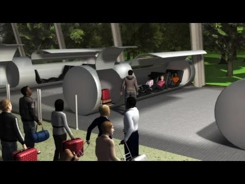 L'Hyperloop, la capsule supersonic du futur - 13/08