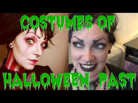 My Halloween Costume History!