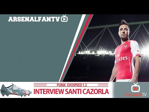 Ooh Santi Cazorla!!! | ArsenalFanTV Exclusive Interview