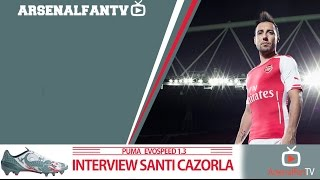 Ooh Santi Cazorla!!! | ArsenalFanTV Exclusive Interview