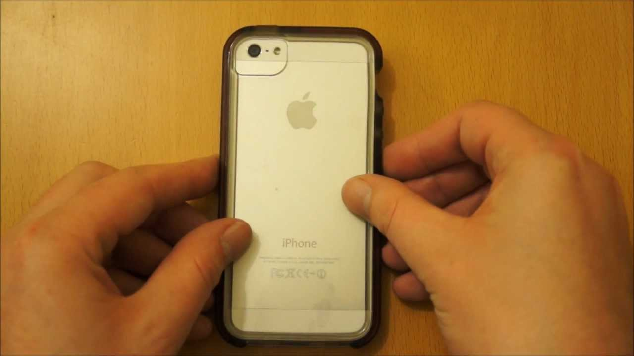 detailed look 70e68 3f517 Tech21 Smokey Impact Band iPhone 5S / 5 Case Review