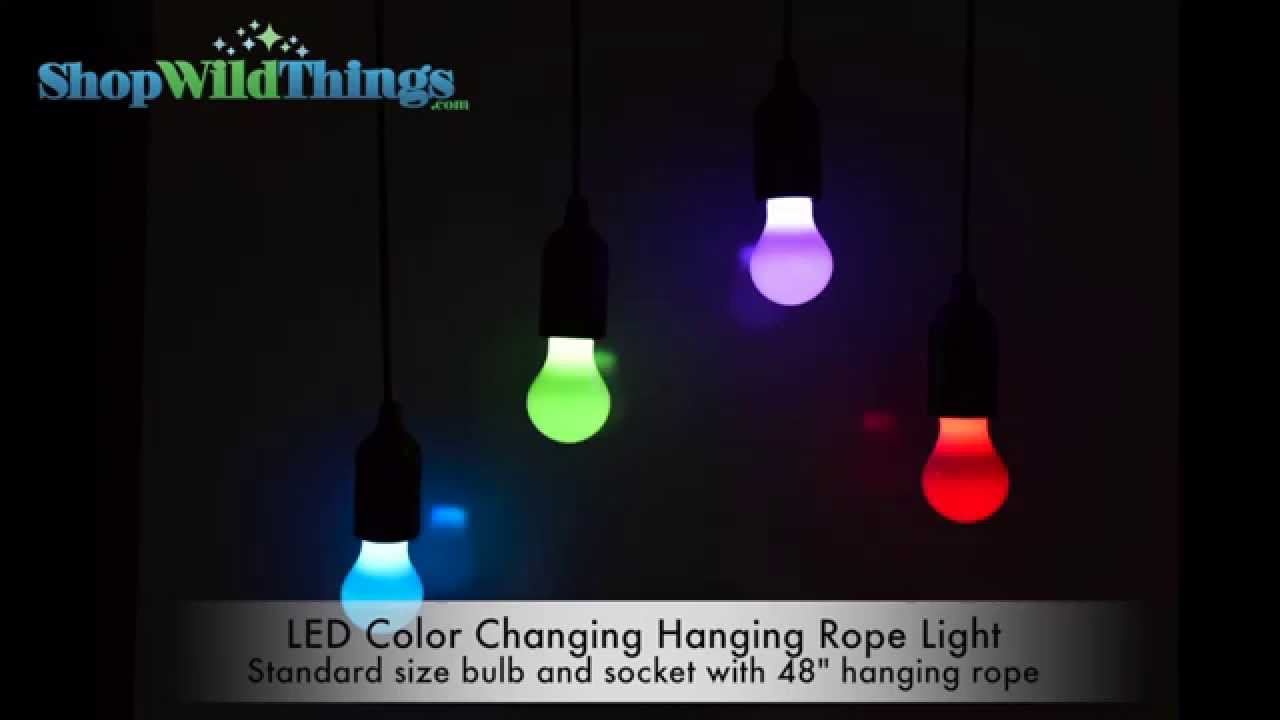 Led color changing rope light shopwildthings youtube aloadofball Image collections