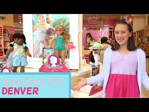 Trip To American Girl Store Denver + HUGE Haul! -  AG Vlog