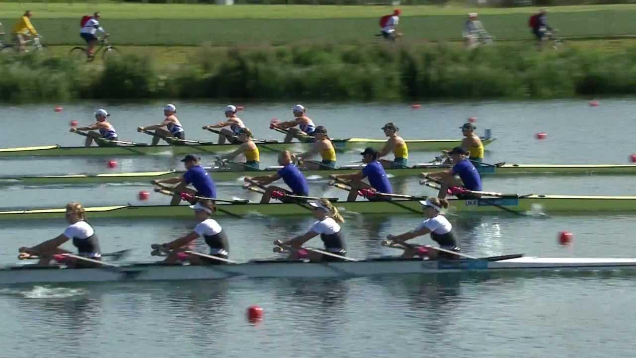 Women's Quadruple Sculls Rowing Heats Replay -- London ...