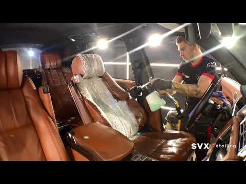 Химчистка кожаного салона Range Rover