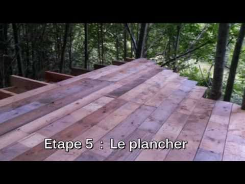 cabane dans les arbres youtube. Black Bedroom Furniture Sets. Home Design Ideas