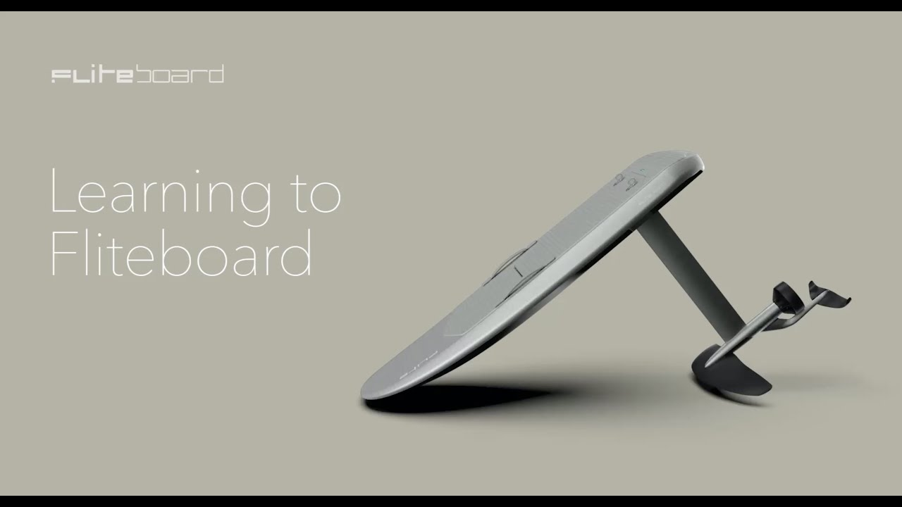 How to Fliteboard (Series 2 eFoil)