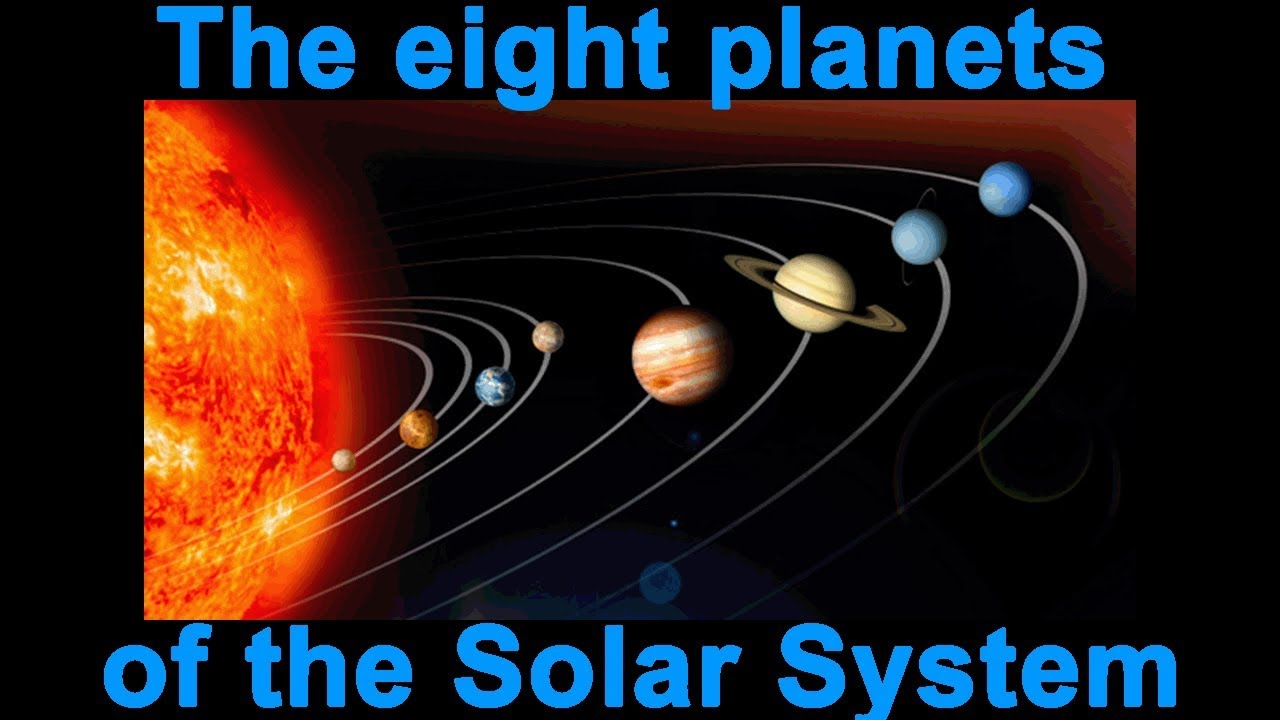 The eight planets of the Solar System - YouTube