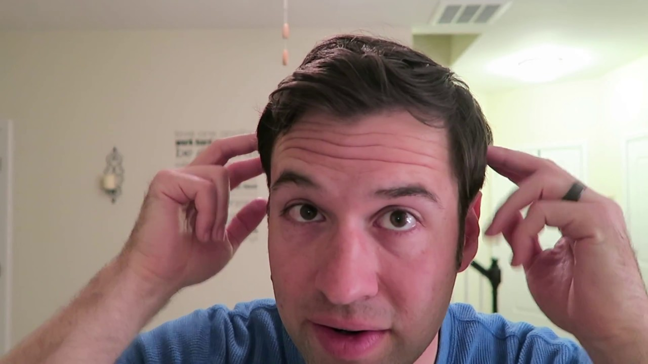 Perfect Hairstyle For Norwood 3 Receding Hairline Youtube