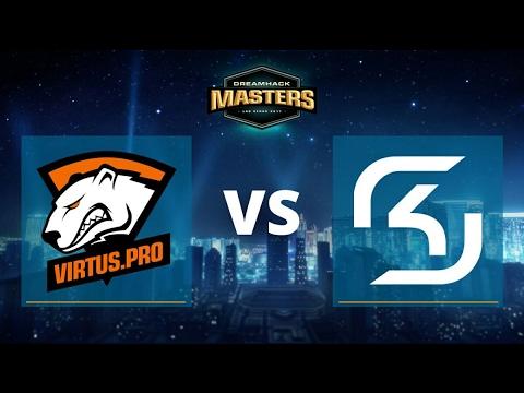 Virtus.pro vs SK Gaming - DreamHack Masters Las Vegas 2017 - Finał - Mapa 3