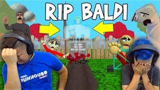 BALDI IS DEAD... Baldi's Basics (Trap Out Of Control)